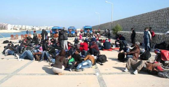 Mersin'de 140 Suriyeli Kaçak Yakalandı