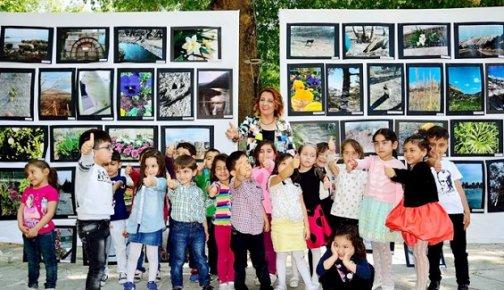Mesin'de Anaokulu Öğrencilerinden Fotoğraf Sergisi
