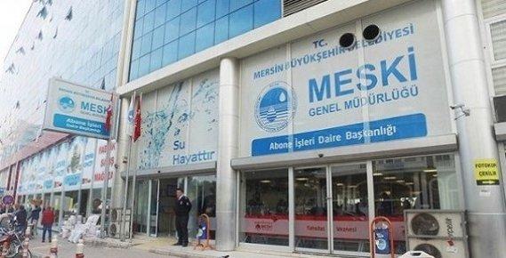 Meski Mersin'de Kaçak Su Kullananların Peşine Düştü.