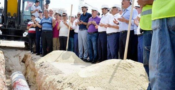 Mezarlık Kavşağı Deplase Çalışmalarına Start Verildi