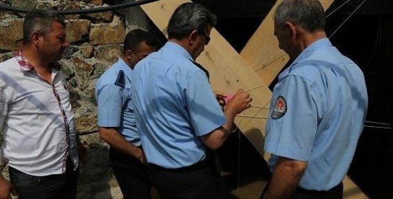 Mezitli Belediyesi Demirışık Mahallesi'ndeki  Maden Ocağını Kapattı