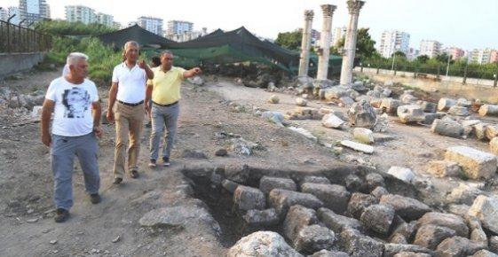 Mezitli Belediyesi Soli Pompeiopolis'i Arkeopark Yapmak İçin Harekete Geçti