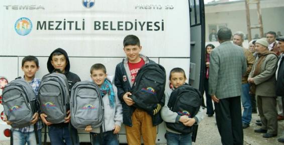 Mezitli Belediyesinden Ermenek'e Yardım Eli Uzandı
