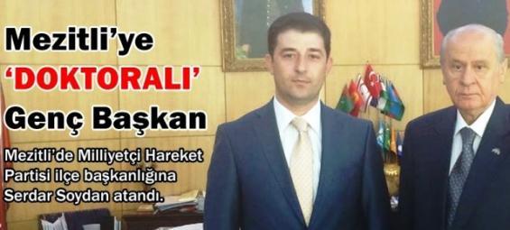 Mezitli MHP İlçe Başkanlığında Kan Değişimi