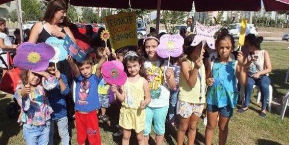 Mezitli'de Çocuklar İçin Eğitim Şenliği Düzenlendi.