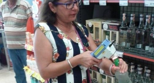 Mezitli'de Sahte ve Bandrolsüz İçki Denetimi