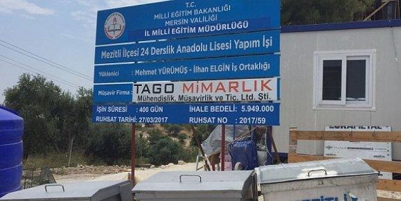 Mezitli'de Zeytinlikler İnşaat'a Kurban Gitti.