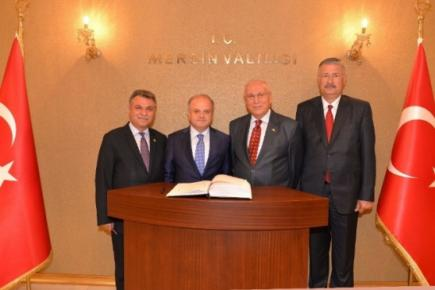MHP Mersin Milletvekillerinden Vali Çakacak'a Ziyaret