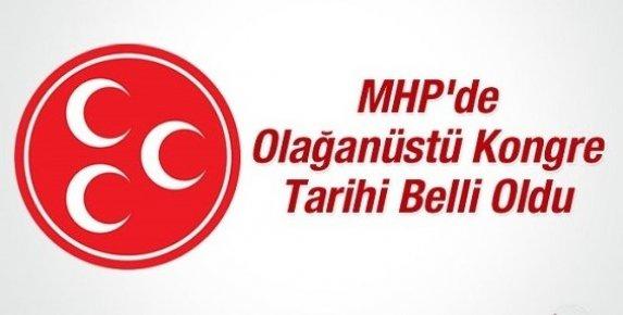 MHP'de Kurultay 15 Mayıs'ta