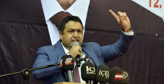 MHP'de Tek Aday İle Gidilen İl Kongresinde Zeynel Abidin İl Başkanı Seçildi.