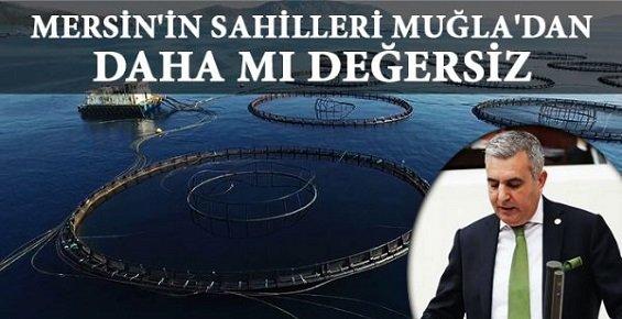 MHP'den Mersin'e Balık Çiftliği Tepkisi!