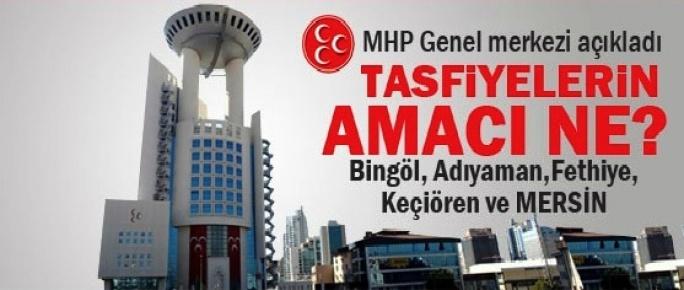 MHP'den Tafiye Açıklaması