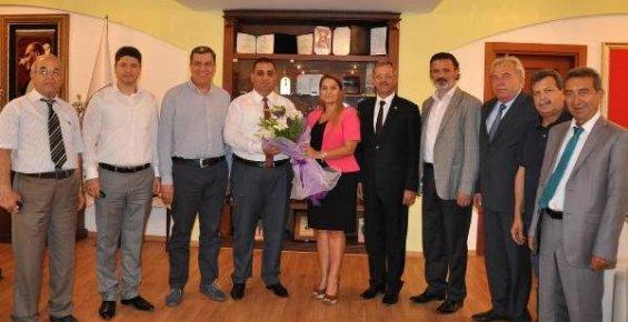MTOSB'dan, Tarsus Belediye Başkanı Can'a Ziyaret
