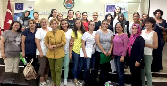 MTSO AB Bilgi Merkezi'nden Kadına Karşı Şiddetle Mücadeleye Eğitim Desteği