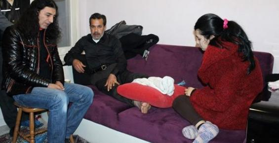 Murat Kekilli, Özgecan'ın Babasını Ziyaret Etti