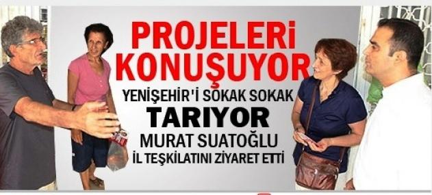Murat Suatoğlu Yenişehir'e Projelerini Anlatıyor