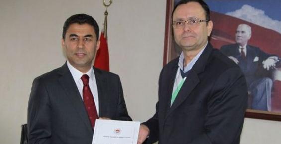 Mustafa Sever MTSO'yu Ziyaret Etti