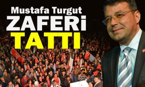 Mustafa Turgut Zafere Çok yakın