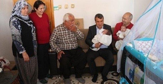 Mut Belediyesinden Hoş Geldin Bebek Projesi