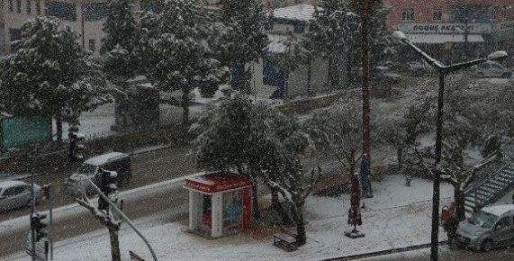 Mut'ta Kar Hayatı Olumsuz Etkiliyor