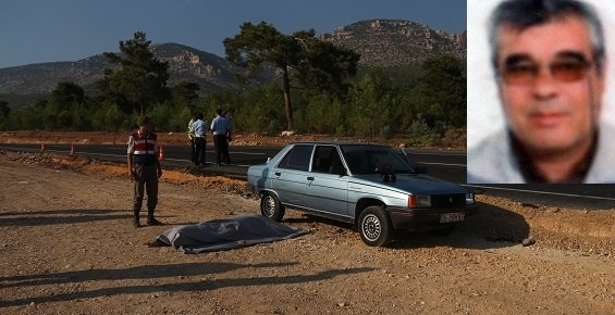Mut'ta Otomobil Yayaya Çarptı:1 Ölü
