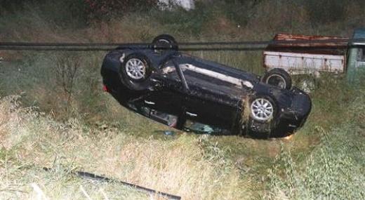 Mut'ta Trafik Kazaları: 2 Yaralı