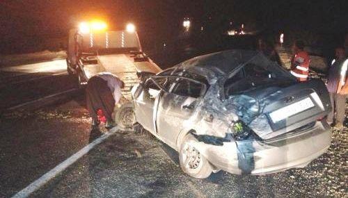 Mut'ta Trafik Kazası: 1 Ölü