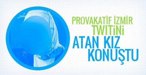 Neden İzmir'de Patlama Olmuyor Twiti Atan Elif Şirin Konuştu