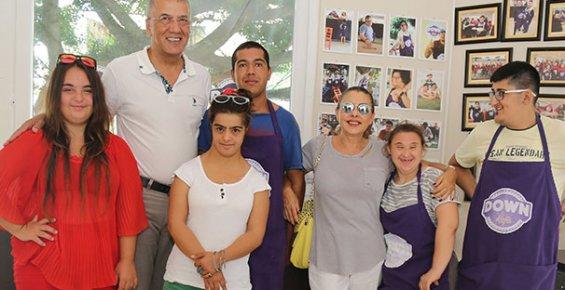 Nilüfer, Mersin'de Down Sendromlu Çocukların Konuğu Oldu