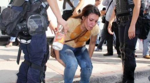 Ödp'li Gençlere Polis Müdahalesi