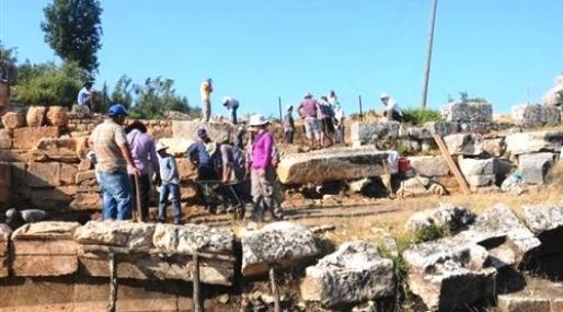Olba Antik Kenti Kazıları Başladı
