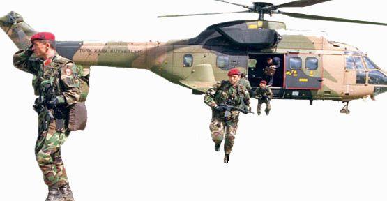 Özel Harekatcılar Kuzey Irak'a Girdi !