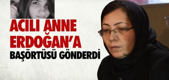 Özgecan'ın Annesi Erdoğan'a Başörtü Gönderdi