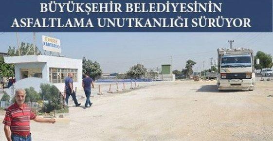 Özgürlük Mahallesi Sakinleri Büyükşehir Belediyesine Tepkili