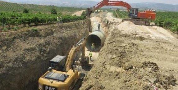 Pamukluk Barajı Sulama Projesi Çalışmaları Sürüyor