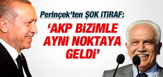 Perinçek; AKP Bizimle Aynı Noktaya Geldi