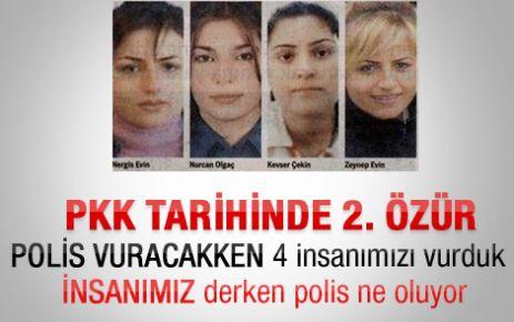 PKK Siirt'te ölen 4 kadın için özür diledi
