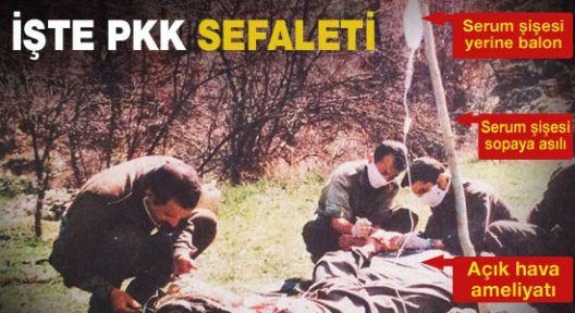 PKK'nın Kandil'de Sefalet Fotoğrafı