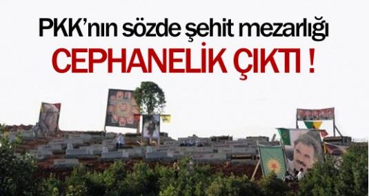 PKK'nın Sözde Şehit Mezarlığı