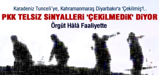 PKK'nın Telsizleri Hala Faaliyette