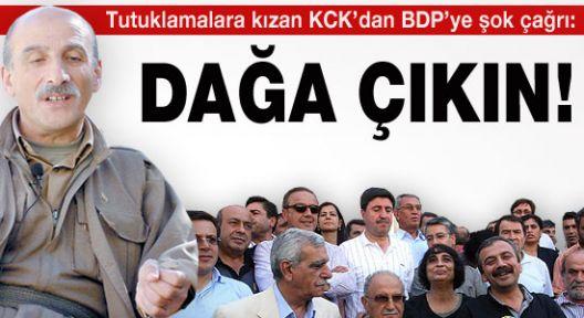 PKK'dan BDP'ye Çağrı:Dağa Çıkın