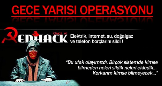 RedHack, İl Özel İdare'yi Hackledi