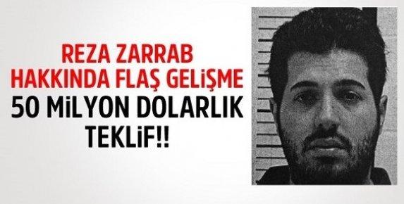 Reza Zarrab'tan 50 Milyon Dolarlık Kefalet Başvurusu