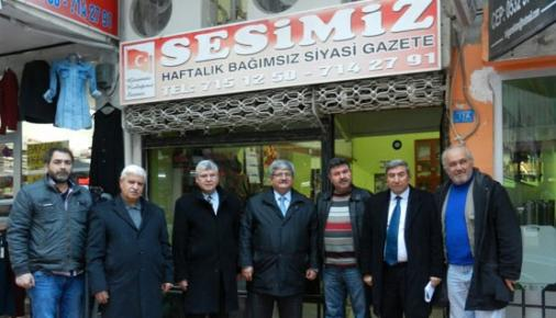 Sağlar, İlçe ilçe Gezerek MGC Üyeleri İle Görüşüyor