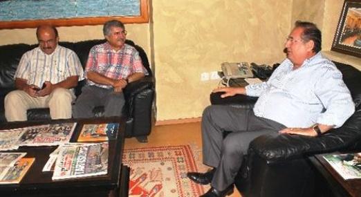 Sağlar'dan Başkan Özcan'a Ziyaret