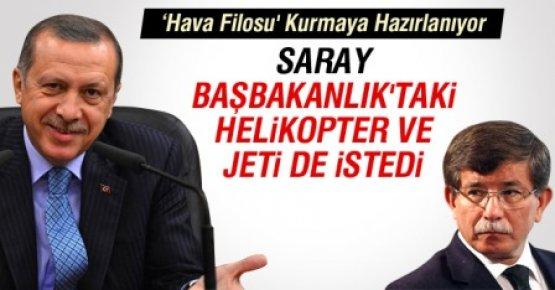 Saray, Başbakanlık'taki Helikopter ve Jeti de İstedi