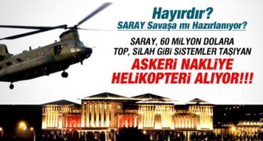 Saray'a 60 Milyon Dolara Askeri Nakliye Helikopteri Alınıyor