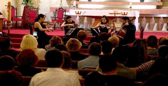 Saygun Quartet'ten Tarihi Kilisede Konser