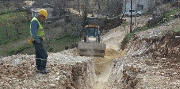 Sebil Kanalizasyon İnşaatı Hızla İlerliyor