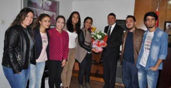 Silifke Belediye Başkanı Turgut'a Ziyaret